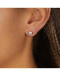 Monica Vinader Multicolor Fiji Mini Button Jacket Earrings