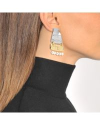 Loewe - Metallic Earth Earrings - Lyst