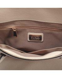 Furla - Natural Pin L Satchel Bag - Lyst