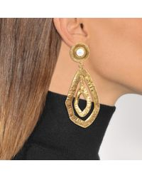 Sylvia Toledano - Metallic Drop Earrings - Lyst