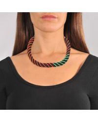 Aurelie Bidermann Multicolor Maya Necklace
