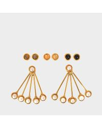 Sylvia Toledano - Metallic Les Infidèles Ear Jacket Set Of Earrings - Lyst