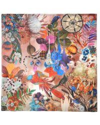 Christian Lacroix - Multicolor Flower Bliss Shawl - Lyst