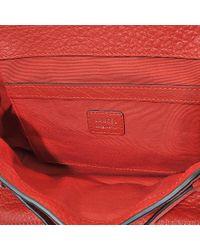 Lancel Charlie Nano Bag In 1948 Red Buffle Skin
