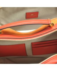 Anya Hindmarch - Brown The Stack Double Satchel Bag In Circus - Lyst