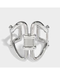 Roberto Cavalli - Metallic Rasna Bracelet In Silver Metal - Lyst