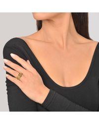 Aurelie Bidermann - Metallic Miki Ring In Gold Plated Brass - Lyst