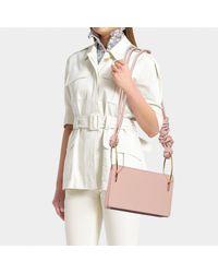 Roksanda Multicolor Dia Bag In Pink Leather