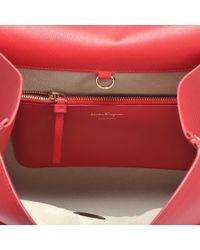 Ferragamo - Red Jet Set Large Bag - Lyst
