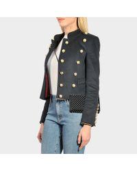 Alexander McQueen Black Wallet Shoulder Bag