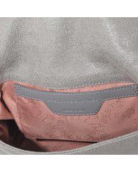 Stella McCartney - Gray Falabella Crossbody Bag - Lyst
