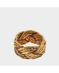 Aurelie Bidermann - Metallic Miki Ring In Gold Metal - Lyst