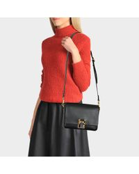 Sophie Hulme - Multicolor The Quick Large Bag In Black Cow Leather - Lyst