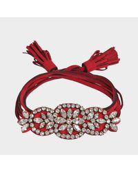 Shourouk - Pink Bal Bracelet - Lyst