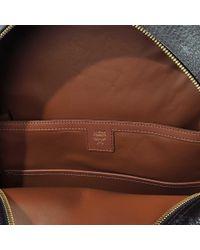 MCM Black Dual Stark Medium Backpack