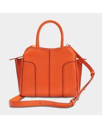 Tod's Blue Sella Mini Bag