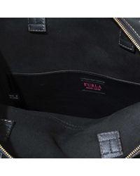 Furla Black Adele M Tote Bag
