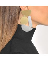 Annie Costello Brown - Metallic Masha Earrings - Lyst