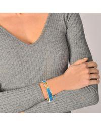 Marc Jacobs - Multicolor Double J Enamel Hinge Cuff Bracelet - Lyst
