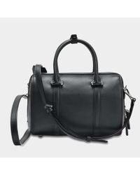 MCM - Boston Small Bag In Black Nylon - Lyst