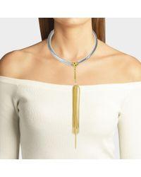 Aris Geldis Multicolor Choker Necklace