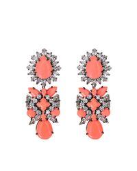 Shourouk - Orange Blondie Earrings - Lyst