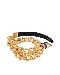Marc Jacobs Metallic Link Belt