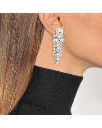 Shourouk - Multicolor Swan Earrings - Lyst