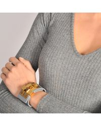 Valentino - Multicolor B Rockstud Large Bracelet - Lyst
