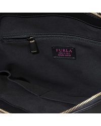 Furla Black Milano Dome Bag
