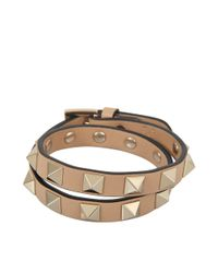 Valentino   Multicolor Rockstud Choker And Double Bracelet   Lyst