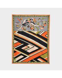 Emilio Pucci Multicolor Cashmere And Wool Plaid