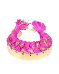 Aurelie Bidermann | Pink Copacabana Bracelet | Lyst