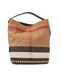 Burberry | Multicolor Medium Ashby B Eyelets Bag | Lyst