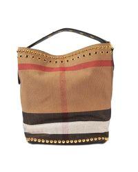 Burberry - Multicolor Medium Ashby B Eyelets Bag - Lyst