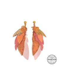 Gas Bijoux | Multicolor Exclusive L'iroquoise Earrings With Swarovski Crystals | Lyst