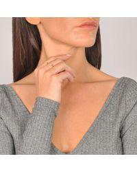 Ginette NY   Pink Mini Straw Diamond Ring   Lyst