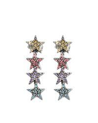 Marc Jacobs - Multicolor Twinkle Star Earrings - Lyst