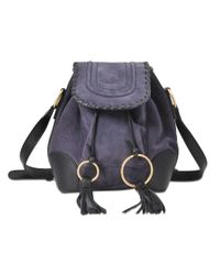 See By Chloé Blue Polly Shoulder Bag