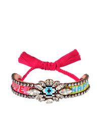 Shourouk | Multicolor Eye Multi Bracelet | Lyst