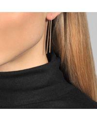 Vanrycke - Metallic Earrings Nunchaku - Lyst