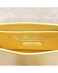 Furla - Yellow Metropolis Mini Crossbody Bag - Lyst