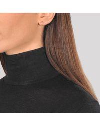 Ginette NY Metallic Wish Stud Earrings