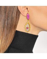 Sylvia Toledano - Pink The Third Eye Earrings - Lyst