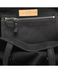 Vanessa Bruno - Black Washed Leather And Sequins Medium + Tote - Lyst