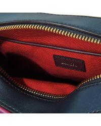 Lancel Red Sam Small Crossed Bag