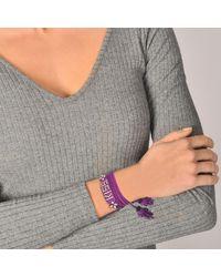 Shourouk - Purple Blabla Bracelet - Lyst