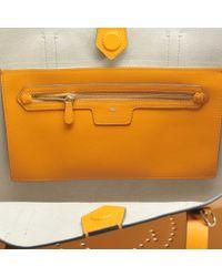 Anya Hindmarch - Orange Ebury Shopper Smiley Bag In Circus - Lyst