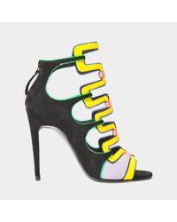 Pierre Hardy Yellow Kaliste Gladiator Sandal