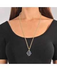 Christopher Kane - Multicolor Stone Necklace - Lyst